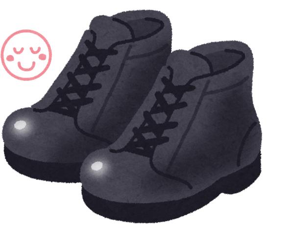 秦野から安全靴を履いていると爪が痛い!と仰る方が来ました②