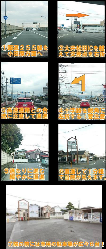 渋沢からのアクセス